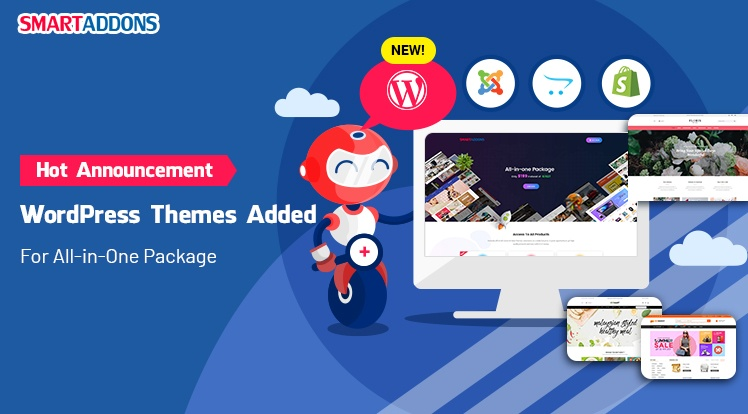 SmartAddons Wordpress News: [SmartAddons's Announcement] WordPress Themes Added for All-in-One Package