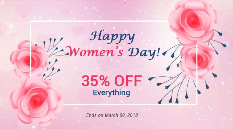 Joomla News: Happy International Women's Day: Save 35% OFF on Everything