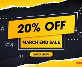 Joomla News: March End Sale: Save 20% Off All Products & Memberships