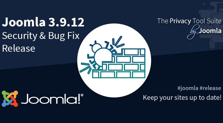 Joomla News: Joomla 3.9.12 Security & Bug Fixes Release