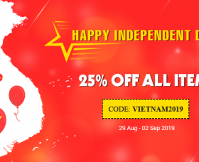 Joomla news: Happy Vietnamese Independence Day: 25% OFF for All Products & Subscriptions