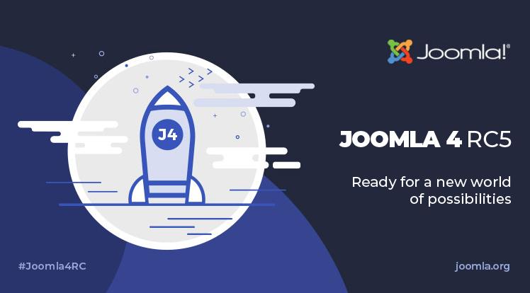 Joomla News: Joomla 4 RC 5 and Joomla 3.10 RC 1 Are Available
