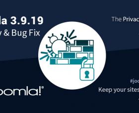 Joomla News: Joomla 3.9.19 Security & Bug Fixes Release