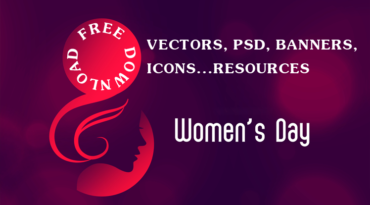 SmartAddons Joomla News: Free Professional Vectors, PSD, Banners, Icons Resources for Women's Day 2020