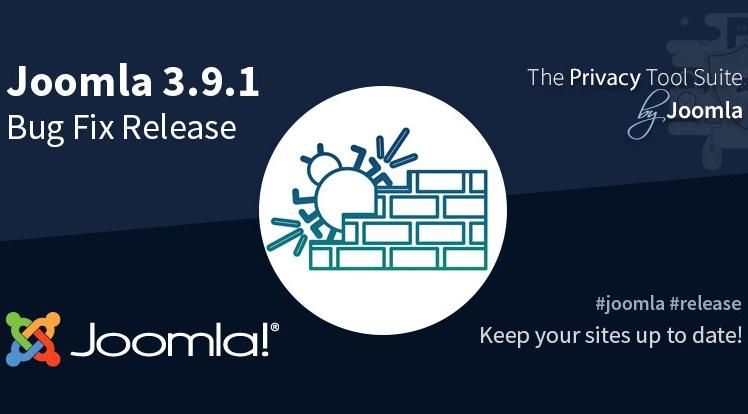 Joomla News: Joomla! 3.9.1 Bug Fixes Release