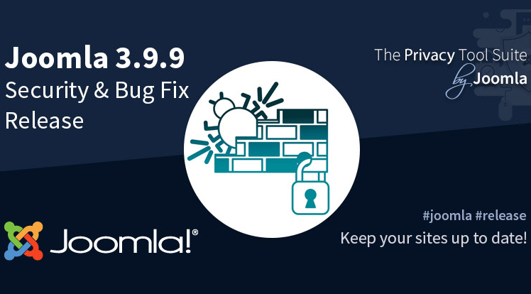 Joomla News: Joomla! 3.9.9 Security & Bug Fix Release