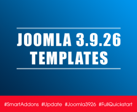 Joomla News: Joomla Templates Updated for Latest Joomla 3.9.26