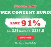 Joomla News: Super Joomla Bundle: 5 Joomla Templates + 10 Pro Extentions & More - Only $29 (Save 91%)