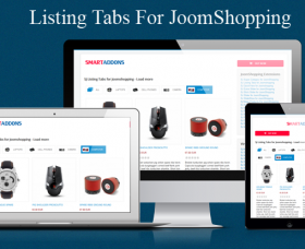 Joomla News: Build Listing Tabs for JoomShopping