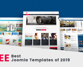 Joomla News: Top 10 Free Joomla Templates 2019
