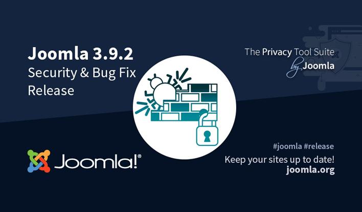 Joomla News: Joomla! 3.9.2 Security and Bug Fixe Release