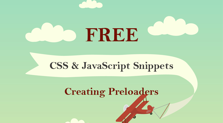 SmartAddons Joomla News: Top 8 Free & Beautiful CSS & JavaScript Snippets for Creating Animated Loaders