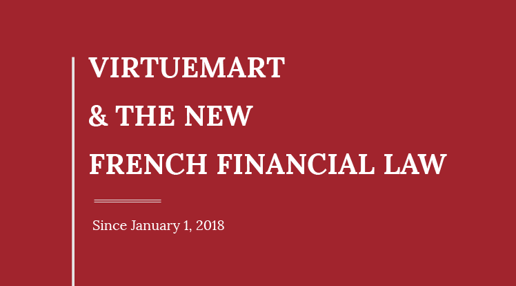 SmartAddons Joomla News: VirtueMart and The New French Financial Law Update 2018