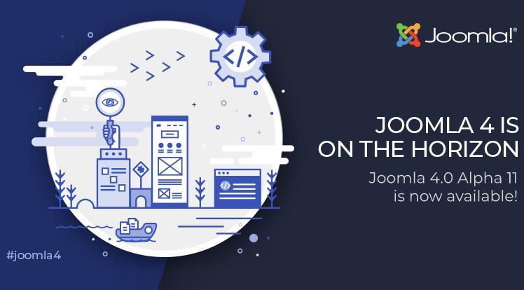 Joomla News: Joomla 4.0 Alpha 11 is Out