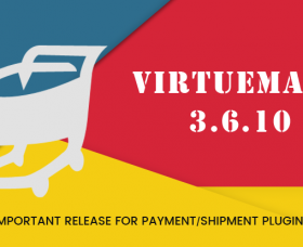 Joomla News: VirtueMart 3.6.10 - Important Release for Category Restriction of Payment/Shipment Plugins