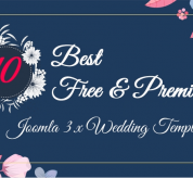 Joomla News: 10 Best Free and Premium Joomla 3.x Templates for Wedding in 2018