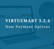 Joomla News: VirtueMart 3.2.4 Release with New Payment Options