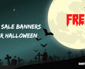 Joomla News: 10 Free Graphic Sale Banner Templates in PSD for Halloween