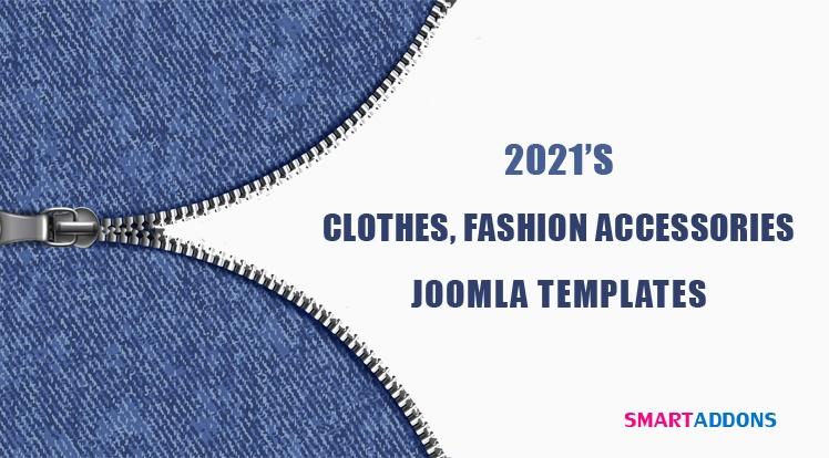 Joomla News: 10 Best Clothes & Fashion Accessories Joomla Templates