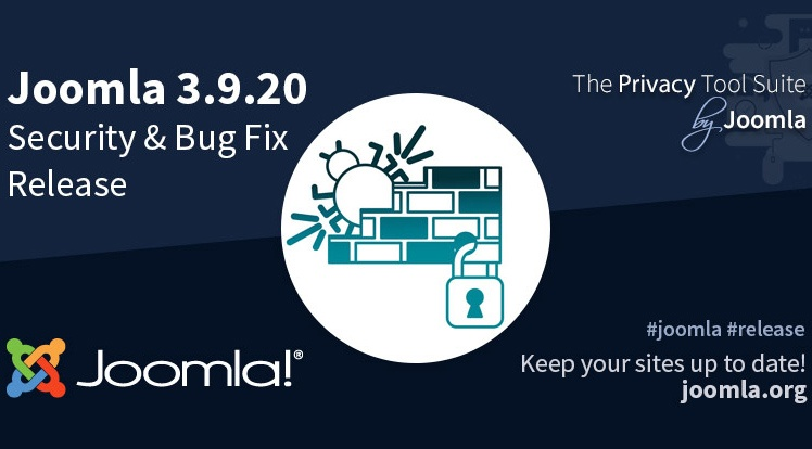 Joomla News: Joomla 3.9.20 Security & Bug Fix Release