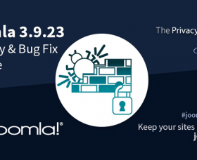 Joomla News: Joomla 3.9.23 is Available