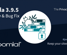 Joomla News: Joomla! 3.9.5 Security Vulnerabilities & Bug Fixes Release