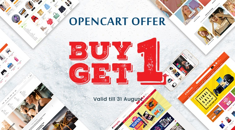 SmartAddons Opencart News: Buy One OpenCart Theme, Download One for Free