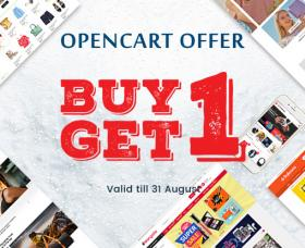 Opencart news: Buy One OpenCart Theme, Download One for Free