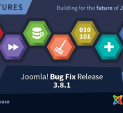 Joomla News: Joomla! 3.8.1 Bug Fixes Release