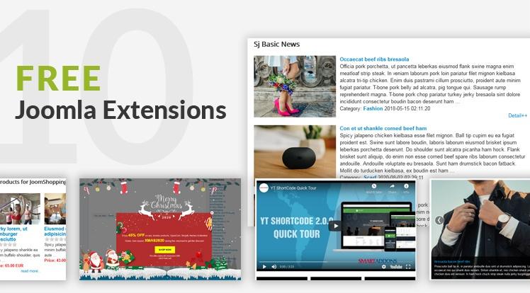 Joomla News: Top 10 Free Joomla Extensions, Modules in 2021