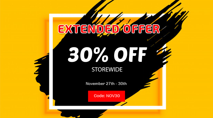 SmartAddons Joomla News: Black Friday Offer Extended: 30% Off Storewide