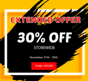 News Joomla: Black Friday Offer Extended: 30% Off Storewide