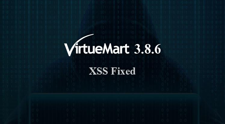 Joomla News: VirtueMart 3.8.6 Security Release
