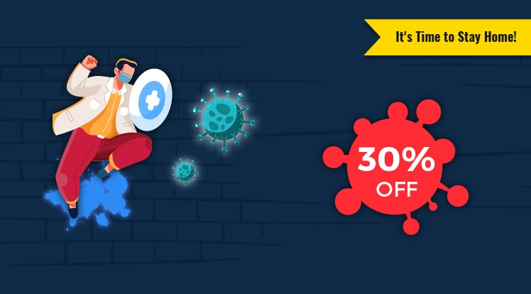 SmartAddons Joomla News: Stop Covid-19, It's Time to Stay Home! 30% Off All Products