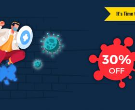 Joomla news: Stop Covid-19, It's Time to Stay Home! 30% Off All Products