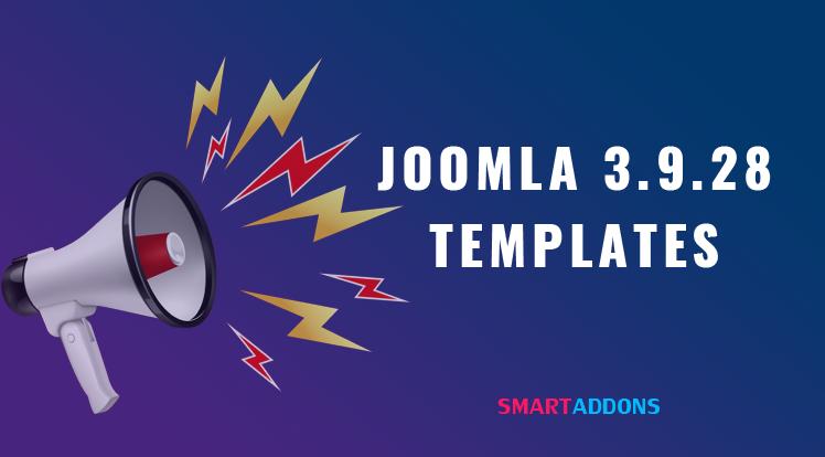 Joomla News: Joomla Templates Updated for Latest Joomla 3.9.28