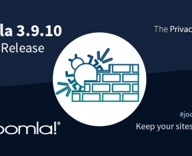 Joomla News: Joomla! 3.9.10 Bug Fix Release - Multilingual Sites Issue