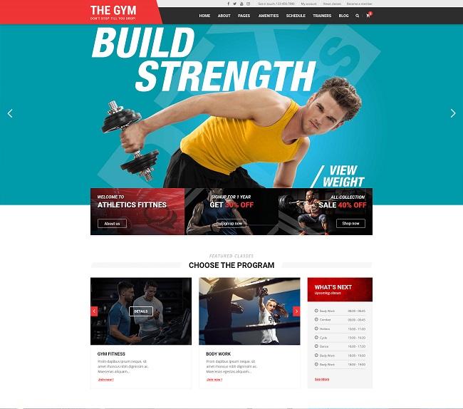 Joomla News: [PREVIEW] Sj The Gym - Multipurpose Gym Yoga, Fitness, Gym Personal Trainer & Gym Shop Joomla Template
