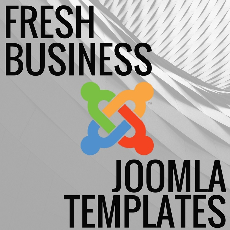 Joomla News: Top 5 Fresh Business Joomla Templates