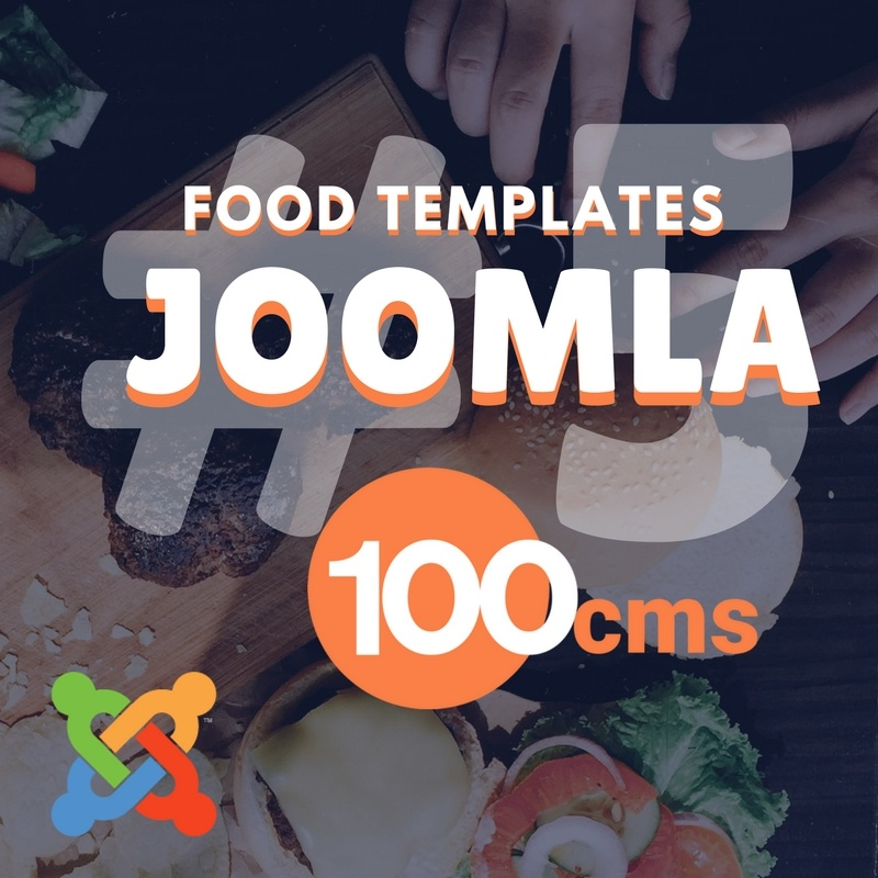 Adolph Joomla News: Top 5 Best Joomla Food Website Templates