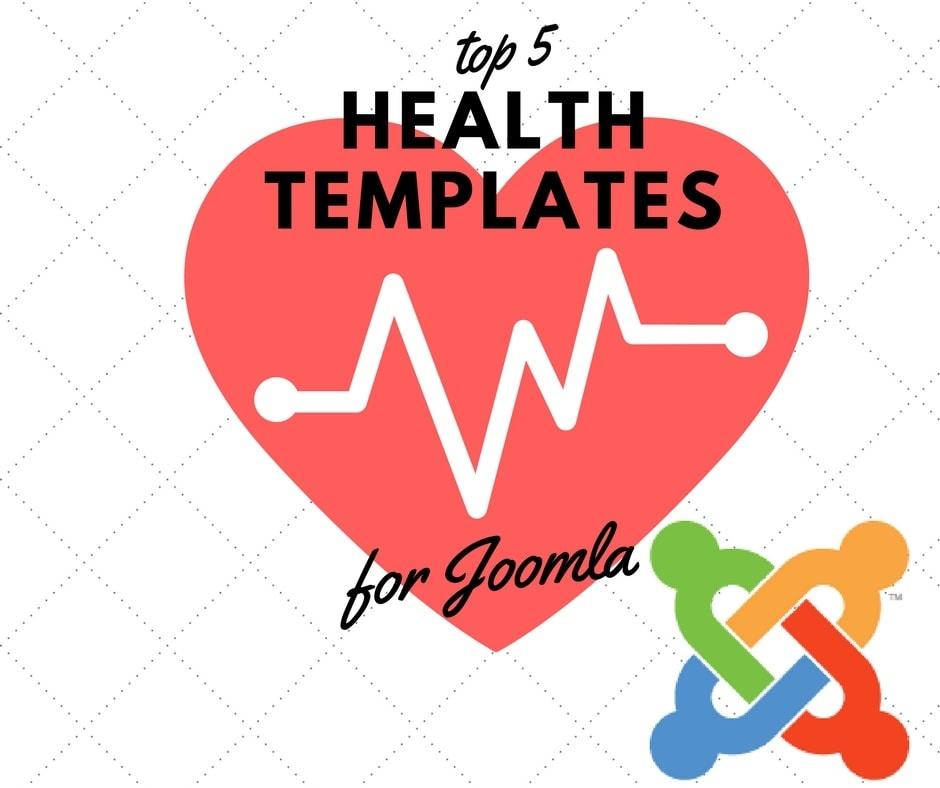 Joomla News: Top Joomla Health Templates - balanced design in balanced CMS.