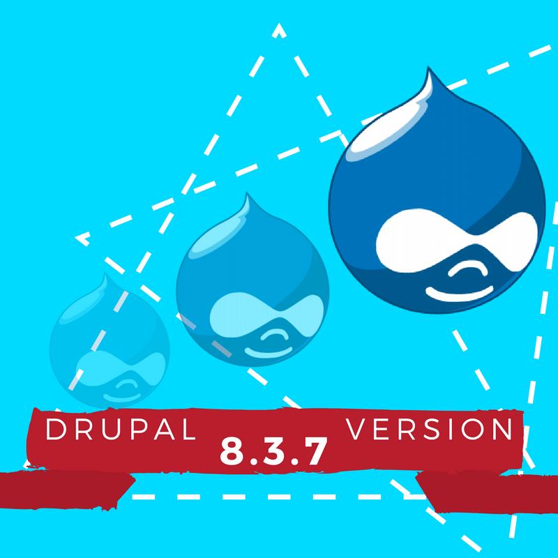 Drupal News:  Drupal 8.3.7 Version