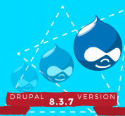 News Drupal:  Drupal 8.3.7 Version