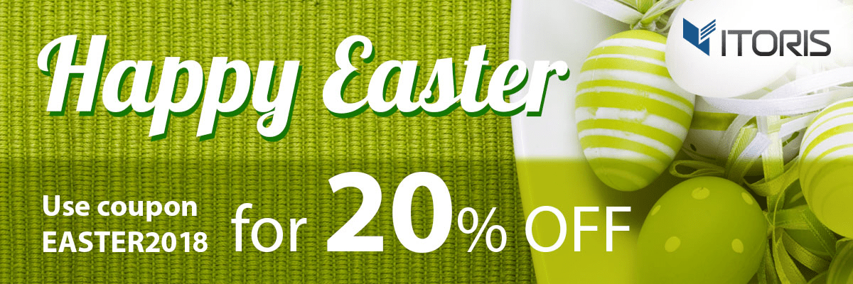 Magento News: Celebrate Easter holidays with 20% discount from ITORIS INC!