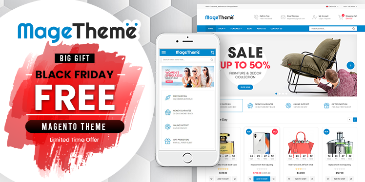 Magento News: Best New Free Responsive Magento 2 Theme - SM MageTheme