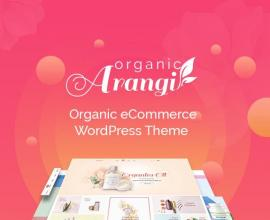 Wordpress news: Arangi - Organic WooCommerce Theme