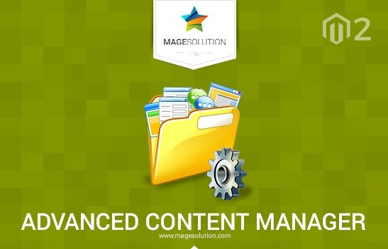 Magento News: Content Manager Magento 2 Extension released