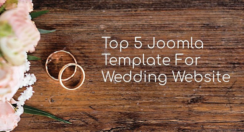 Joomla News: Top 5 Joomla Template For Wedding Website