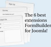 Joomla news: The 6 best extensions form builder for joomla!