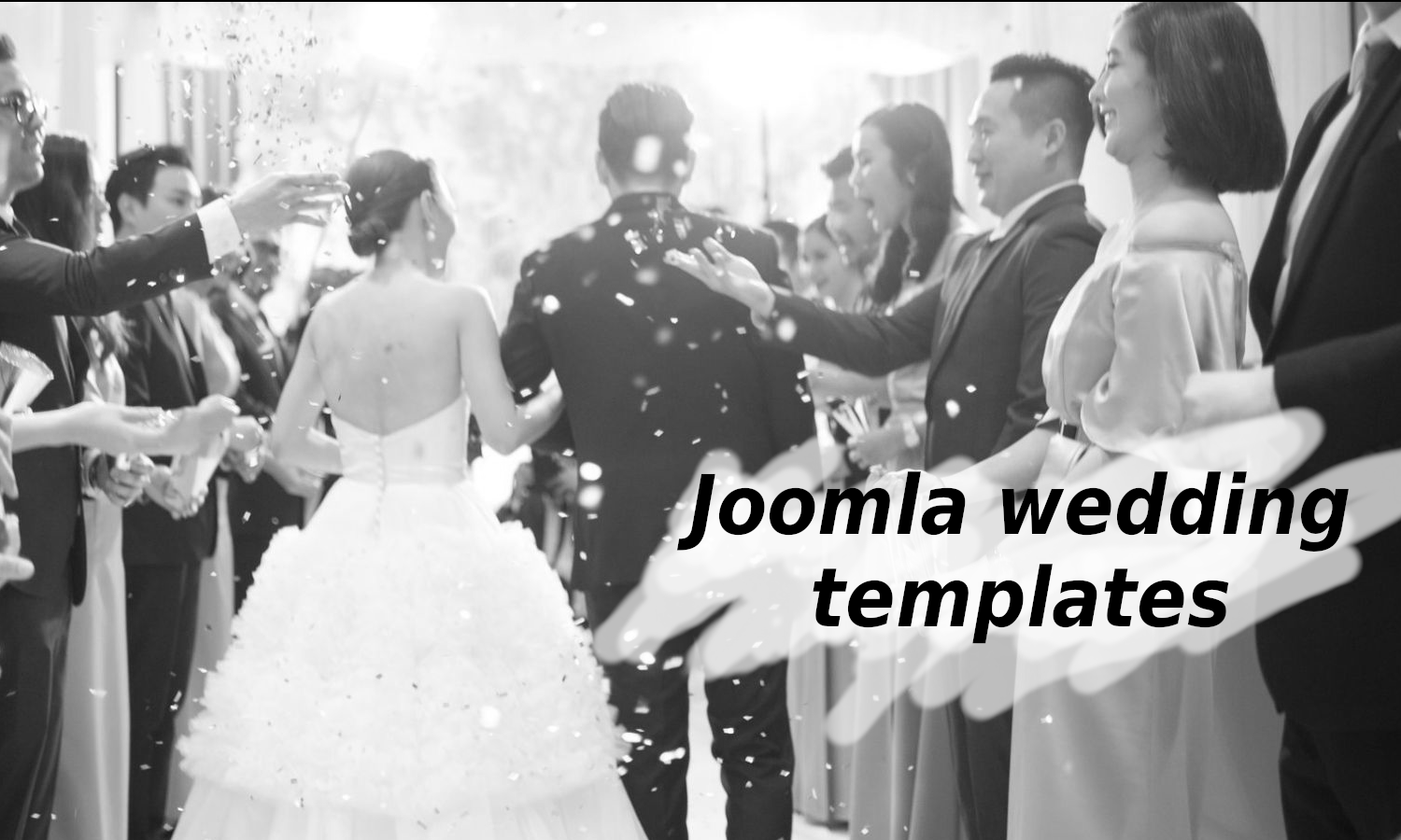 Joomla News: Joomla Wedding Template
